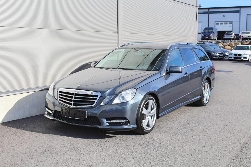 Mercedes-Benz E, 200 CGI T A BE AMG *NAVI/SÄHKÖLUUKKU/AMG-PAKETTI*