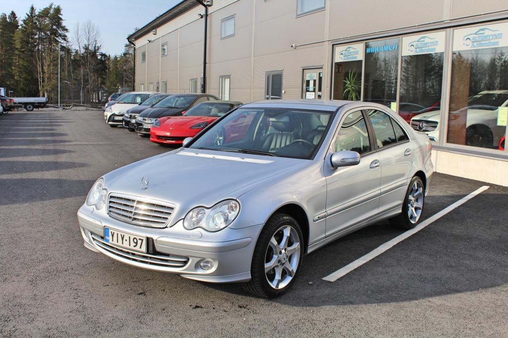 Mercedes-Benz C, 180 Kompressor Sport Edition *OSAMAKSULLA ILMAN KÄSIRAHAA*