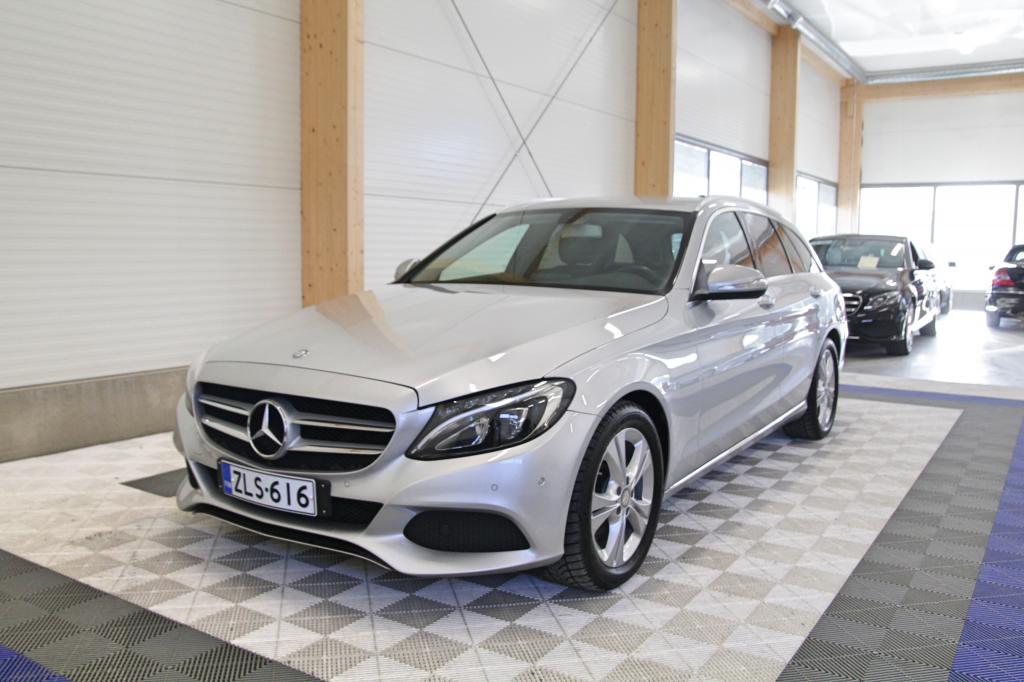 Mercedes-Benz C, 200 T A BT Premium Business Avantgarde *LED/NAVI/LOHKOLÄMMITIN/SÄHKÖLUUKKU*