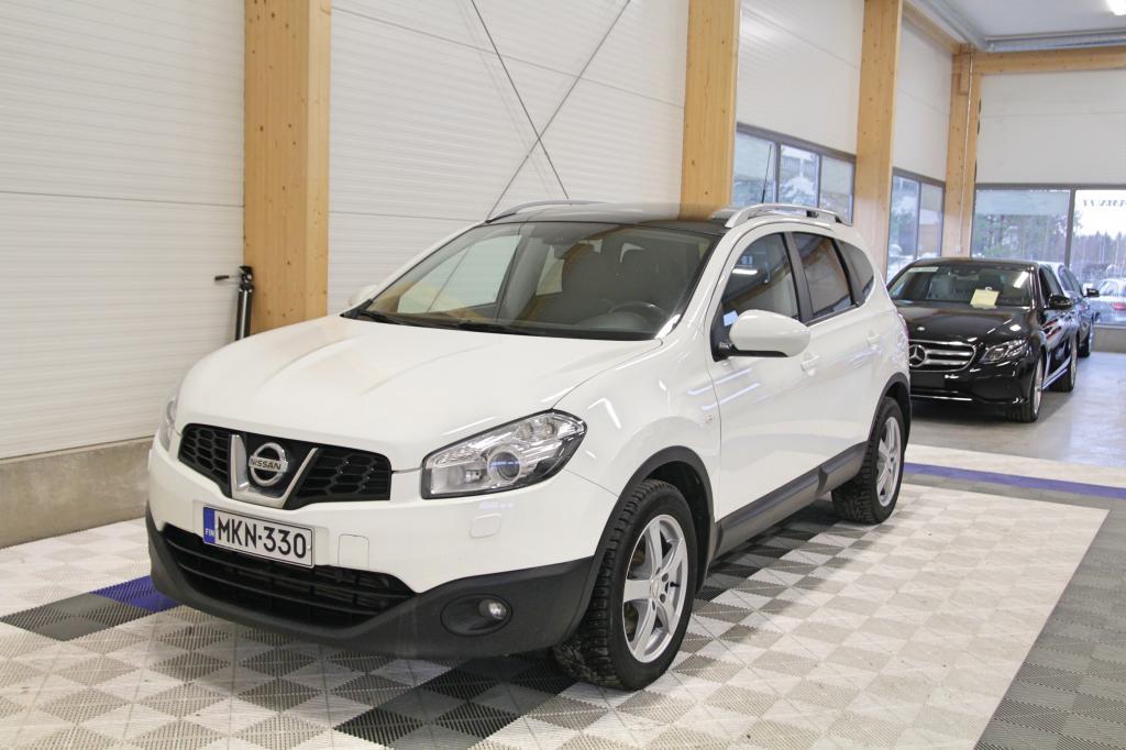 Nissan Qashqai+2, 2, 0dCi Acenta 4WD Aut *OSAMAKSULLA JOPA ILMAN KÄSIRAHAA*