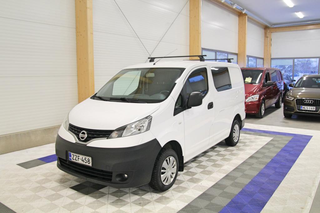 Nissan NV200, Van 1.5 DCi 85 Glazed SIS. ALV 24% *WEBASTO/AC/INVERTTERI*