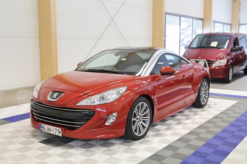 Peugeot RCZ, HDI 163 FAP 2.0 HDI *OSAMAKSULLA JOPA ILMAN KÄSIRAHAA!