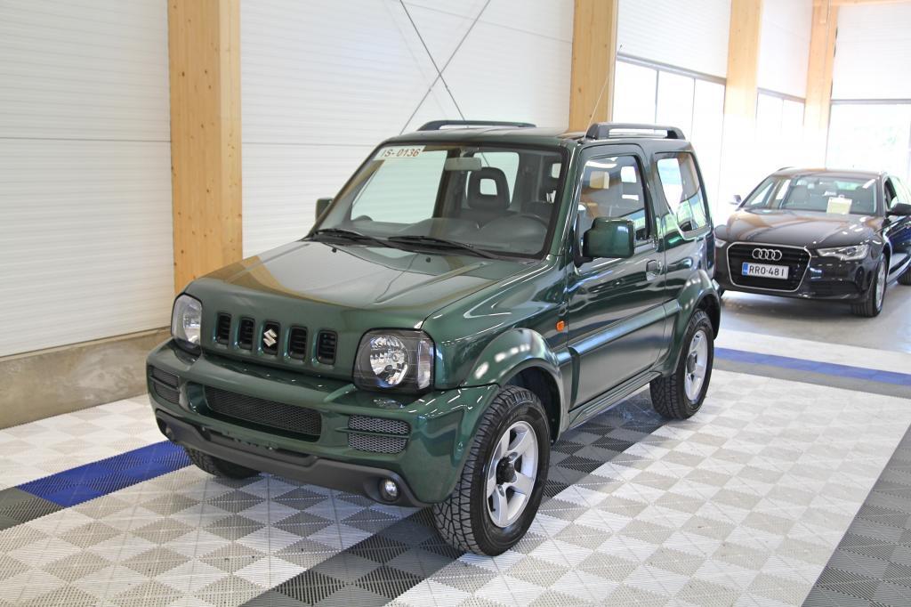 Suzuki Jimny, 1, 3 VVT Aut 4wd ILMASTOITU *RAHOITUS JOPA ILMAN KÄSIRAHAA*