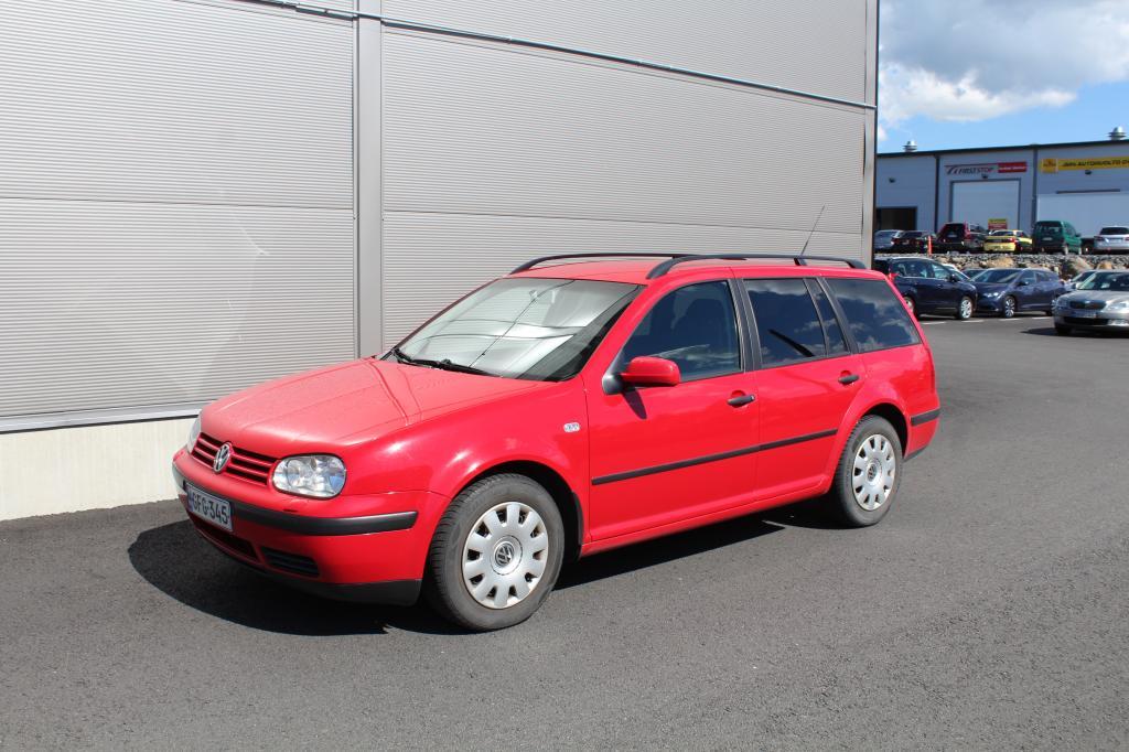 Volkswagen Golf, Variant 1.6i SEURAAVA KATS 7/2021 *ILMASTOINTI/WEBASTO*
