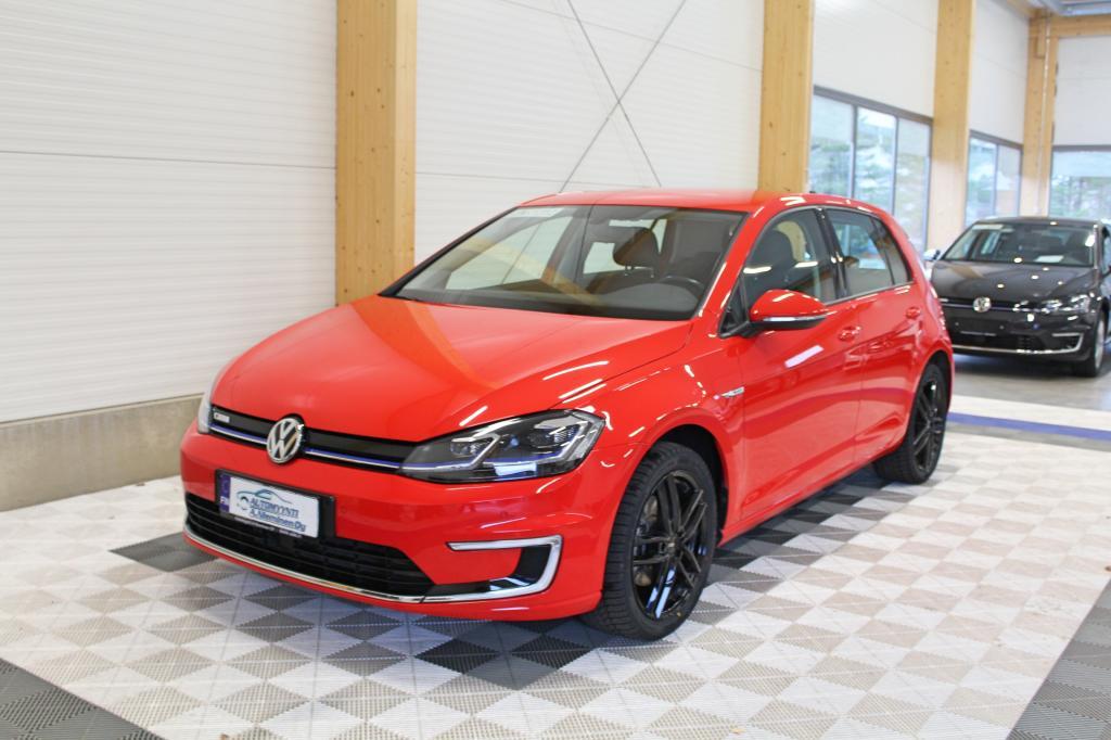 Volkswagen Golf, e-Golf 100kw Aut *ILMALÄMPÖPUMPPU/LED/P-TUTKAT/17