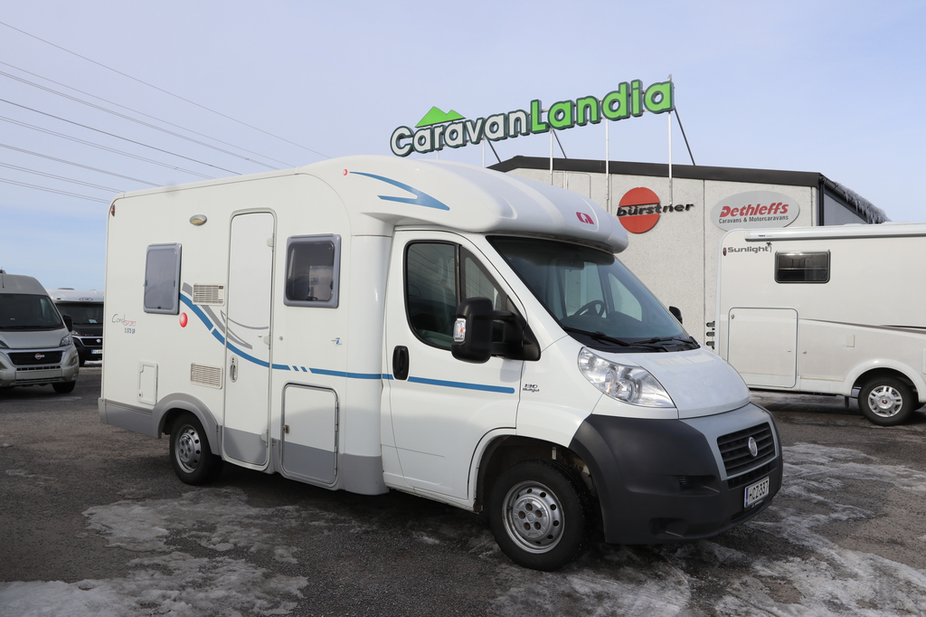 Caravanlandia: Adria Coral Sport 575 2.3 JTD 130hv