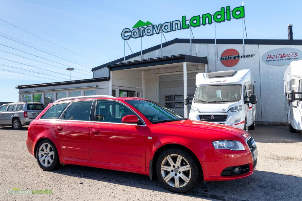 Caravanlandia: Audi A4 2.0 TDi Quattro S-Line