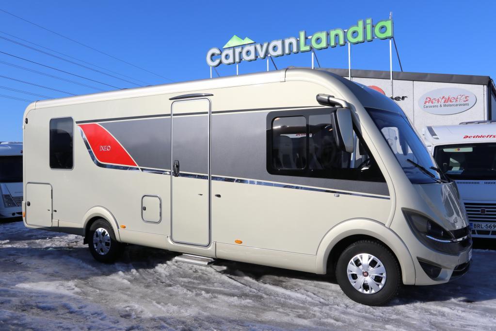 Caravanlandia: Bürstner Ixeo I 746 2.3 JTD 150hv Automaatti