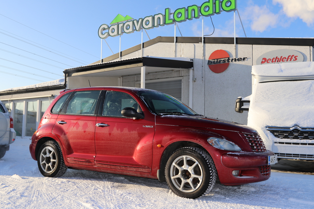 Caravanlandia: Chrysler PT Cruiser 2.4 GT Turbo 223hv