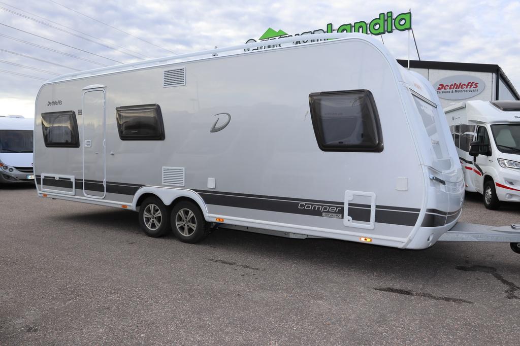 Caravanlandia: Dethleffs Camper  650 FMK ALDE