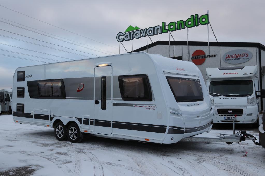 Caravanlandia: Dethleffs Generation Skandinavia 655 RFK ALDE