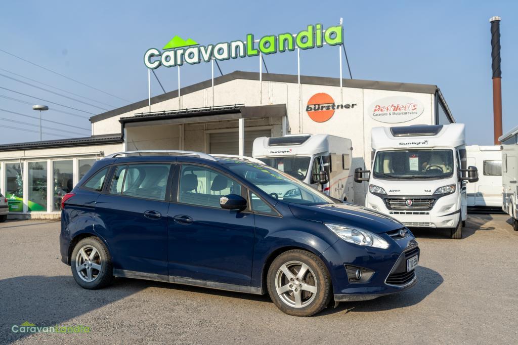 Caravanlandia: Ford C-MAX Grand 2.0 TDCi 140 hv PowerShift autom