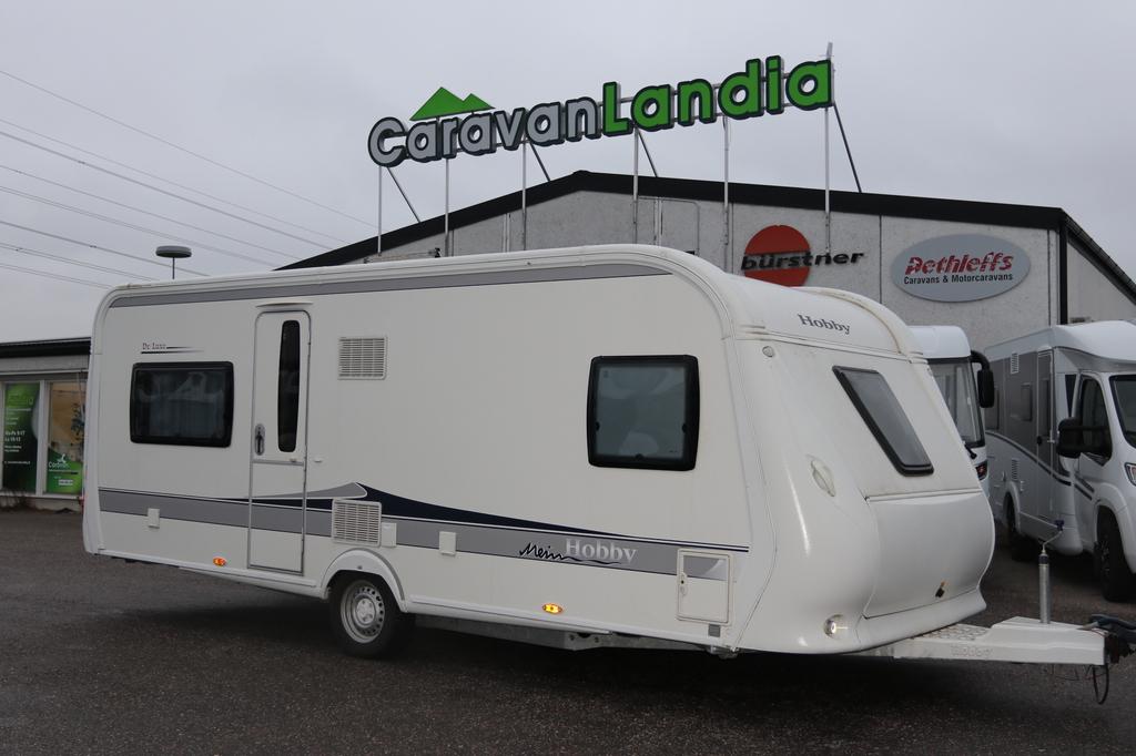 Caravanlandia: Hobby 560 CFe De Luxe ALDE