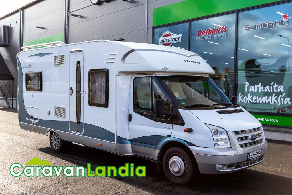 Caravanlandia: Hobby T 650 FLC Paripyörät,  takaveto! 2, 4 TDci 140hv