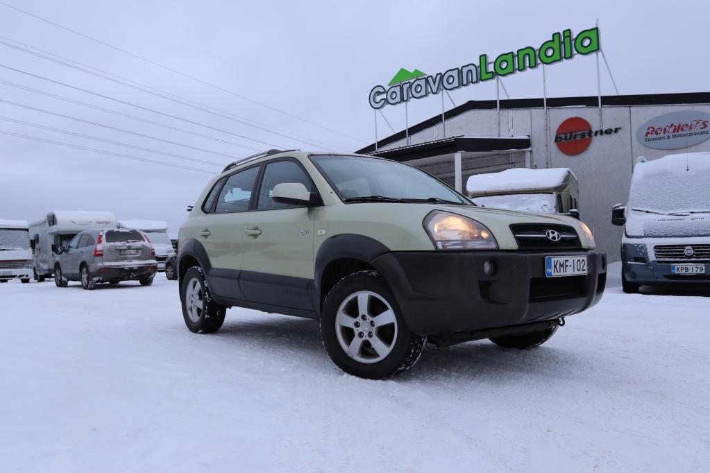 Caravanlandia: Hyundai Tucson 2.7 V6 AUTOMATIC 4x4