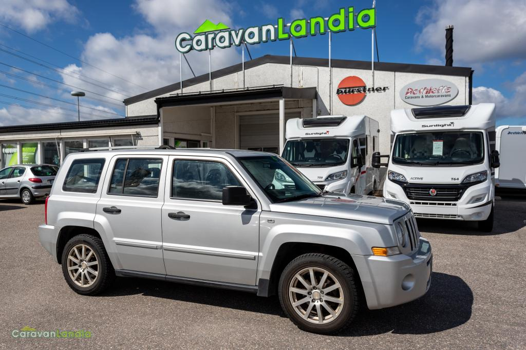 Caravanlandia: Jeep Patriot 2.0 CRD Limited