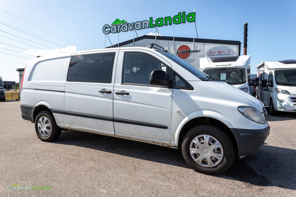 Caravanlandia: Mercedes-Benz Vito 111 CDI 4X4