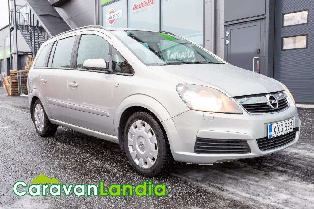 Caravanlandia: Opel ZAFIRA MPV 1.6 105hv ** ILMASTOITU,  TYYLIKÄS METALLIVÄRI **