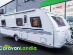 Caravanlandia: Adria Alpina 663 UK **ILMASTOITU,  KAASU-UUNI,  KERROSSÄNKY**