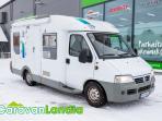 Caravanlandia: Knaus Sun Traveller 604 2.8 JTD 126hv ** PITKITTÄINEN PARIVUODE,  NUKKUMAPAIKAT 4:LLE **