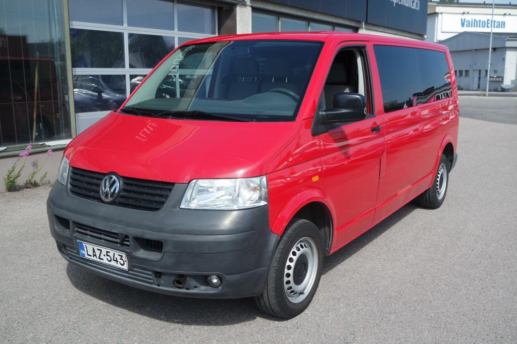 Volkswagen Transporter pitkä 2, 5 TDI 128 kW aut.
