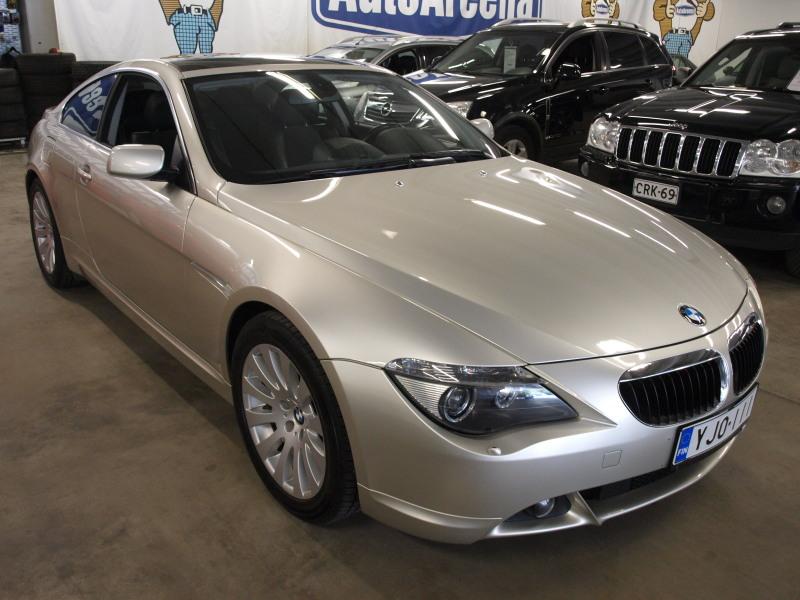 BMW 630, i A. MUKAVILLA VARUSTEILLA MM. PANORAAMAKATTO!