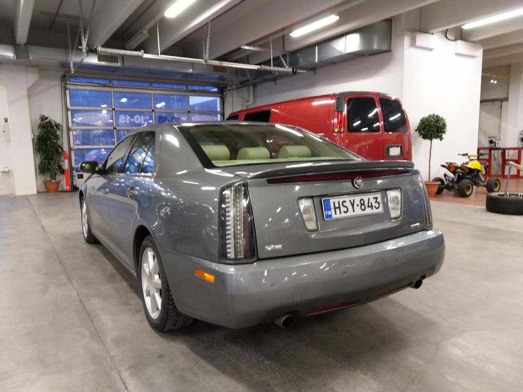 Cadillac  STS SEVILLE,  3.6 AUT. SUOMI-AUTO! AJETTU VAIN 91 TKM! HYVILLÄ VARUSTEILLA.