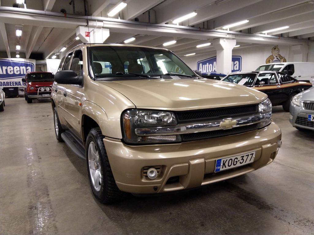 Chevrolet TRAILBLAZER, VÄHÄN AJETTU.SUPERSIISTI.Hyvä huoltohistoria.4X4 Talventaittaja!