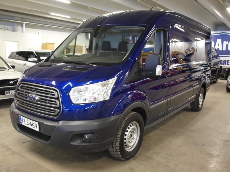 Ford Transit, 2, 2 TDCi 155HV. ALV-VÄHENNYSKELPOINEN! PUOLIPITKÄ/KORKEA. VÄHÄN AJETTU SUOMI TRANSIT,  1.OM! ASIALLISET VARUSTEET!