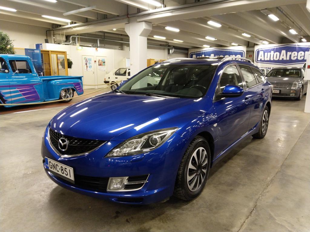 Mazda 6, 2, 0 ACTIVEMATIC SPORTWAGON. ERITTÄIN ASIALLINEN