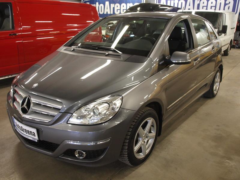 Mercedes-Benz B, 180 NGT A. MAAKAASU!/BENSA AJETTU VAIN 86TKM! MUKAVAT VARUSTEET JA HYVÄ HUOLTOHISTORIA!