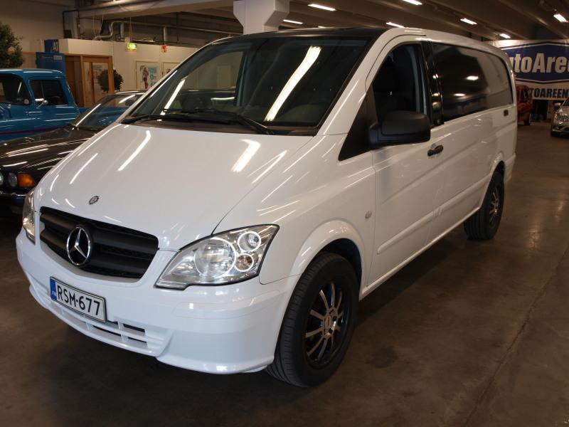 Mercedes-Benz Vito, 122CDI A. PUOLIPITKÄ,  ALV-VÄHENNYSKELPOINEN! ASIALLISILLA VARUSTEILLA!