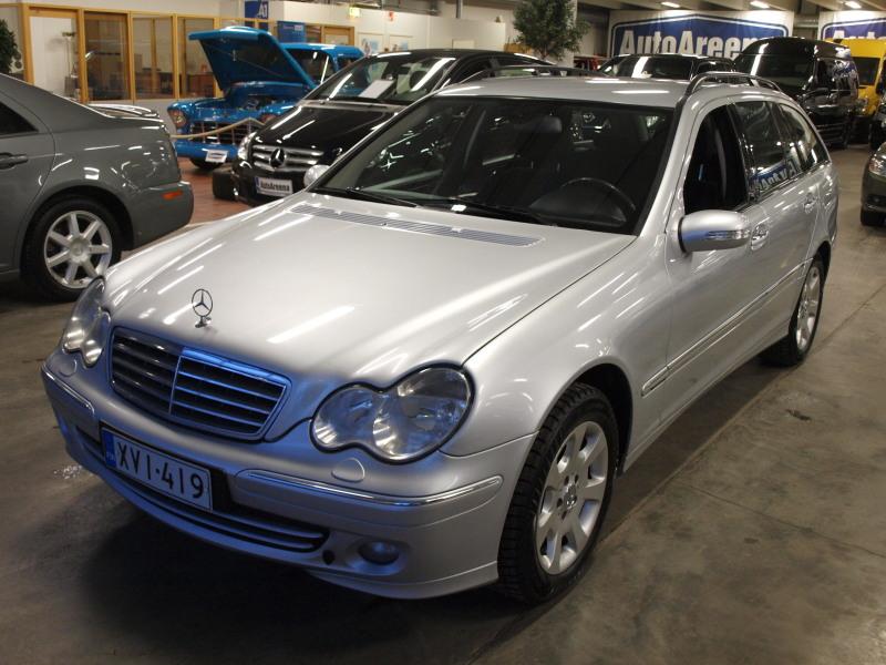 Mercedes-Benz C, 180 ELEGANCE KOMPRESSOR KOMBI AUTOMATIC