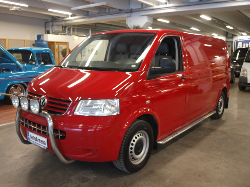 Volkswagen Transporter, 2, 5 TDI 4Motion. PITKÄ,  PARIOVILLA. ALV-VÄHENNYSKELPOINEN! 145TKM AJETTU! SIISTI,  HYVÄ HUOLTOHISTORIA!