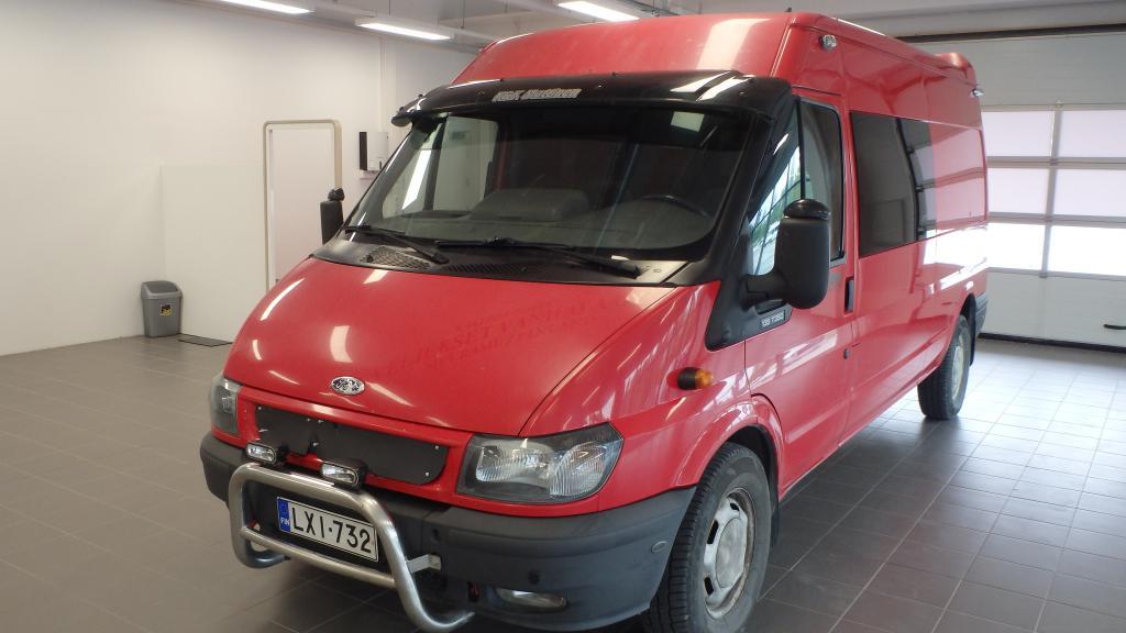 Ford Transit 350L VAN 2, 4TDi Kevyt kuorma-auto 6-paikkainen,  ALV-vähennyskelpoinen