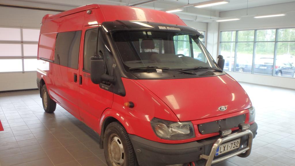 Ford Transit 350L VAN 2, 4TDi Kevyt kuorma-auto 6-paikkainen *Rahoitus ilman käsirahaa* ALV-vähennyskelpoinen