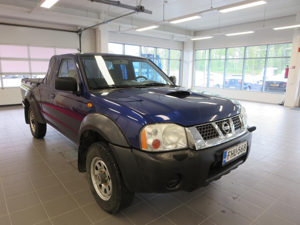 Nissan Pickup KING CAB 2.5DI PICKUP 4X4 *Rahoitus ilman käsirahaa* Hyväkuntoinen,  Neliveto,  ALV-vähennyskelpoinen
