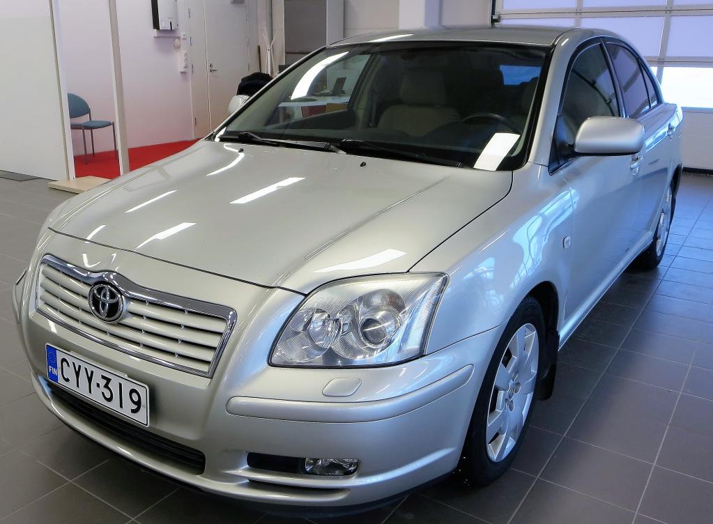 Toyota Avensis 2.0 VVT-i Sol Elegant 146hv *Vaihto & Rahoitus*  Rahoitus jopa ilman käsirahaa!!