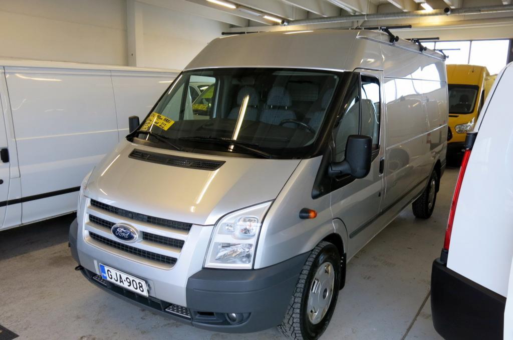 Ford Transit Van 350L 2, 2 TDCi 140hv Trend Puolikorkea *AC *1.omistaja *SUOMI-auto *Lämmitettävä tuulilasi *Lohkolämm.+sisäp.