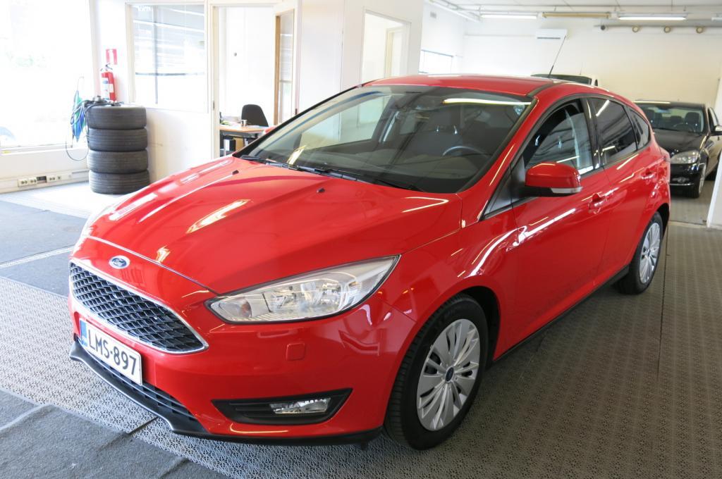 Ford Focus 1.5 TDCi 120hv S/S Business 5-ov *1.omisteinen Suomi-auto *AC *Webasto kauko-ohjaimella *Cruise *Navigaattori