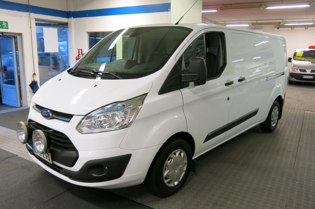Ford Transit Custom Van 310 L2H1 2.2 TDCi 125hv Trend *1.omisteinen Suomi-Auto *AC *Webasto *2xliukuovet *Pysäköintitutkat