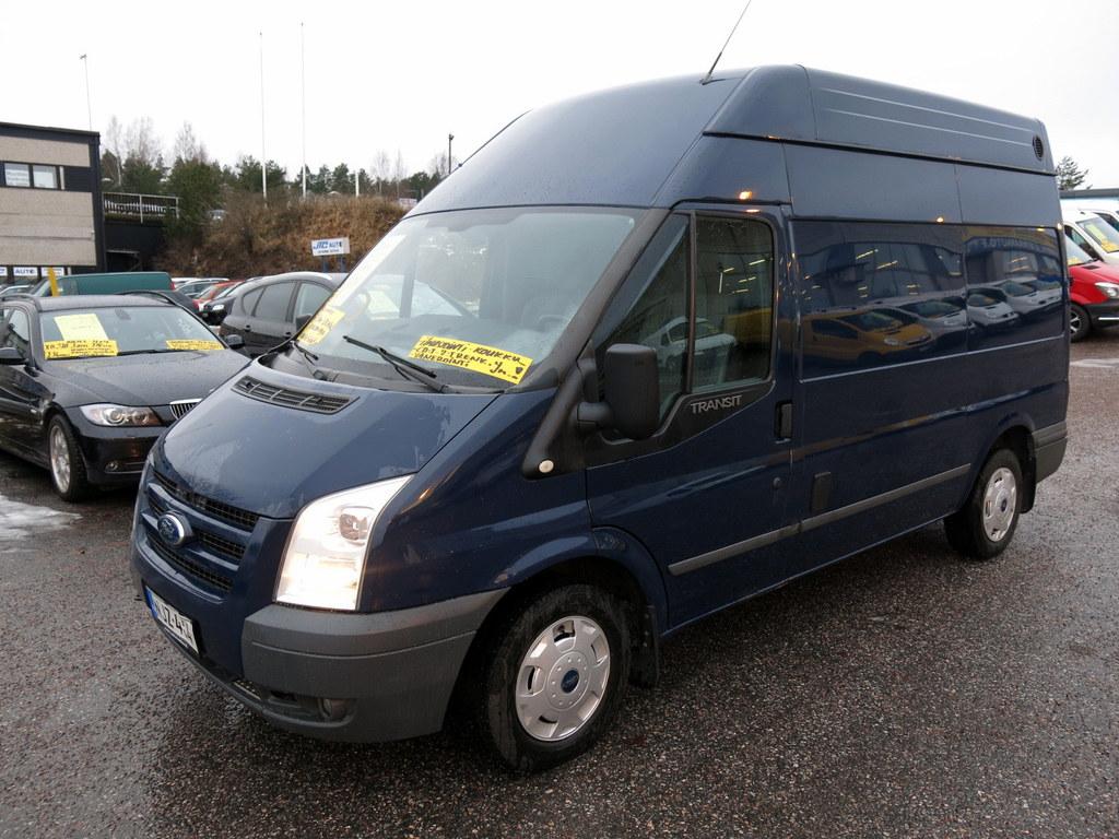 Ford Transit Van 300M 2, 2 TDCI Puolipitkä+Täyskorkea *AC *Lämm.tuulilasi *Juuri peruskorjattu moottori **Rahoituskorkotarjous 0%!**