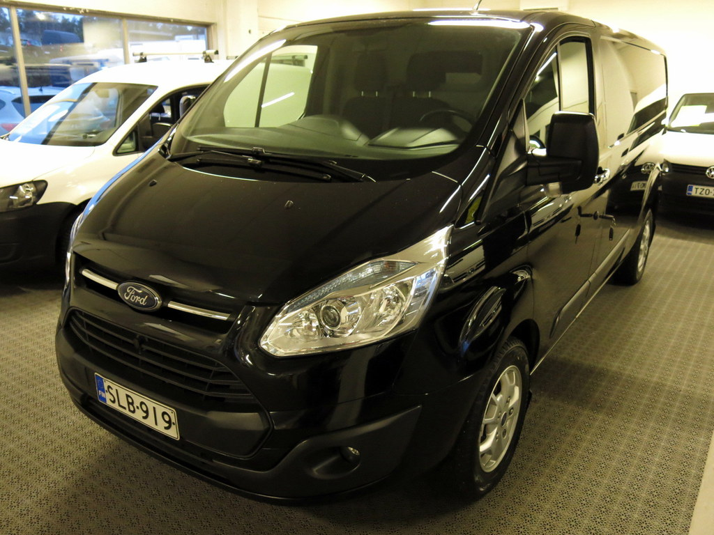 Ford Transit Custom 310 2, 2 TDCi 125hv Trend L2H1 (Pitkä) *Erittäin siististi pidetty yksilö! *AC *Rahoituskorkotarjous 0.95%!!