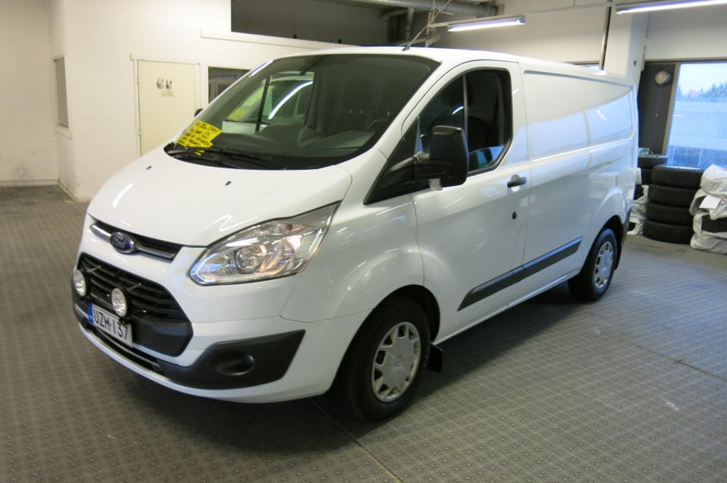 Ford Transit Custom Van 310 2, 2 TDCI 105hv Trend L1H1 *1-omisteinen Suomi-Auto *AC *Webasto ajastimella *Cruise *lämm.tuulilasi *vetokoukku