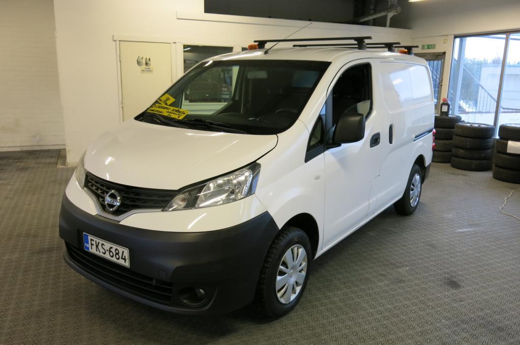 Nissan NV200 Van 1.5 dCi 90hv Comfort *1.omistaja *AC *Hyllystö ja invertteri *2xliukuovi