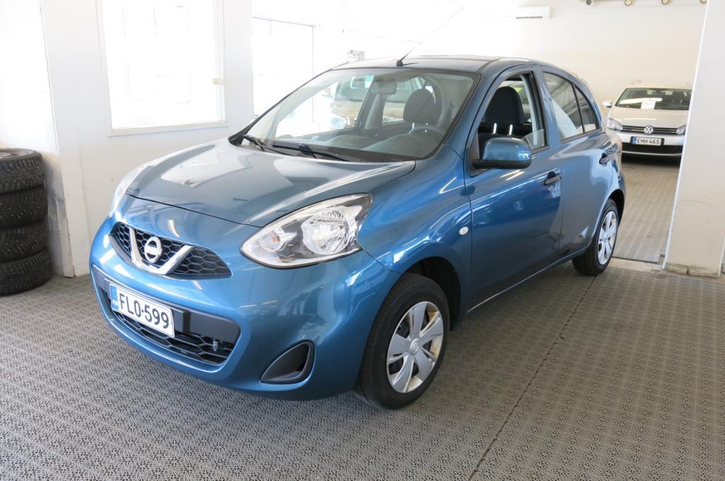 Nissan Micra 1.2i 5ov *AC *Uusi tuulilasi *Bluetooth