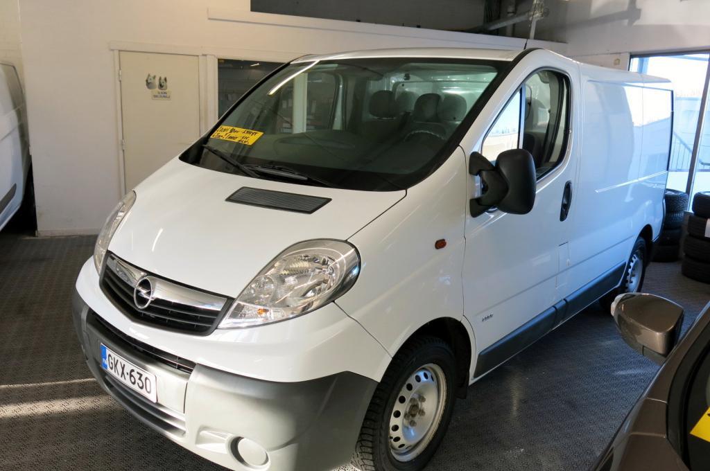 Opel Vivaro Van L1H1 2, 0 CDTI ecoFLEX Essentia *1.omistaja *AC *Webasto *Suomi-auto