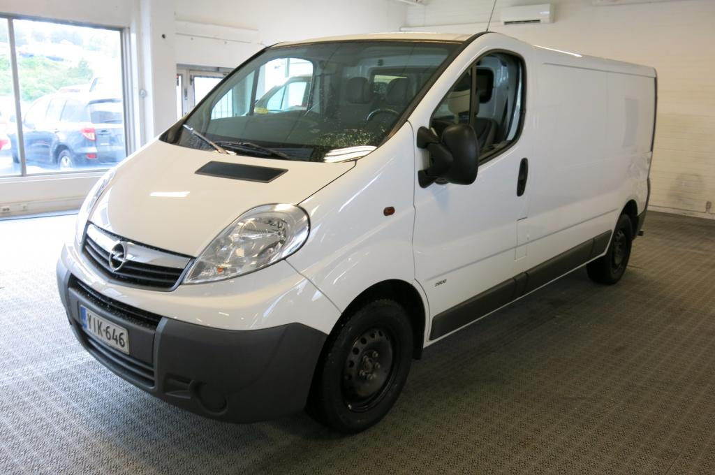 Opel Vivaro Van L2H1 2.0CDTi Ecoflex Essentia *1.om. *AC *Webasto *Suomi-auto *sis.alv *Hyllystö