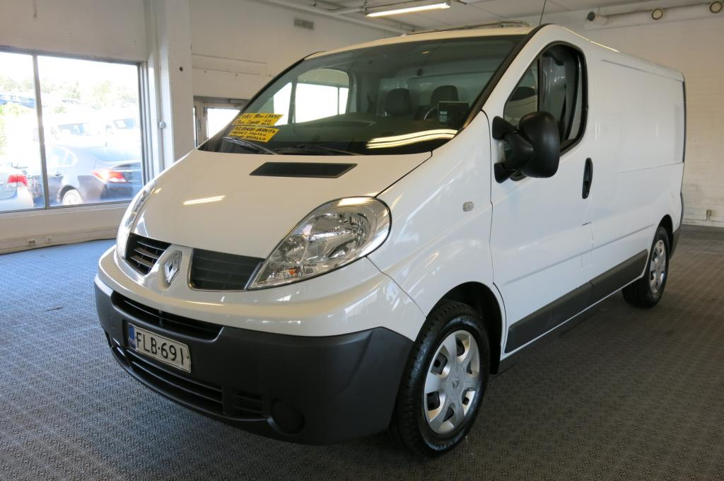 Renault Trafic 2, 0 dCi 90hv 6MT L1H1 5m3 *Webasto *Majakka