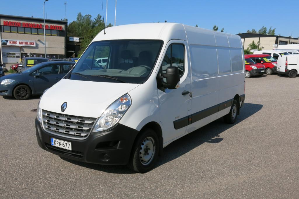 Renault Master 2, 3 dCi 125hv L3H2 *AC *Webasto *Suomi-auto *Sis.alv